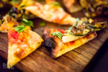 Margherita and Chanterelle mushroom pizzas | Photo: John Tan